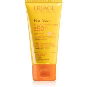 Uriage Bariésun crema protectoare cu efect de tonifiere SPF 50+