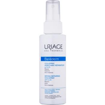 Uriage Bariéderm Cica spray reparator cu conținut de cupru și zinc, cu efect de uscare