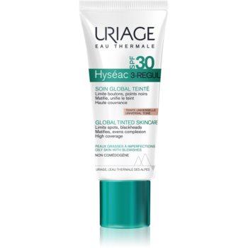 Uriage Hyséac 3-Regul tratament nuanțator complex, contra imperfecțiunilor pielii SPF 30