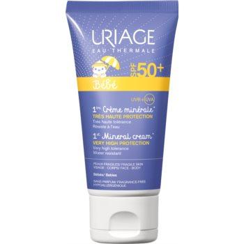 Uriage Bébé mineralische Sonnencreme SPF 50+ 50 ml