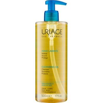 Fotografie Uriage Hygiène mycí olej na obličej a tělo 500 ml