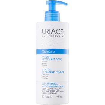 Uriage Xémose gel crema restorativ pentru curatare delicata pentru piele uscata spre atopica