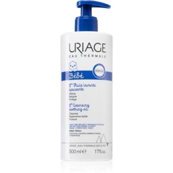 Uriage Bébé ulei calmant pentru curatare pentru piele uscata spre atopica imagine produs