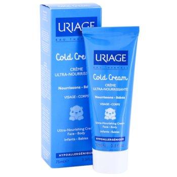 Uriage 1érs Soins Bébés nährende Crem für Körper und Gesicht 1