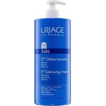 Fotografie Uriage 1érs Soins Bébés čisticí krém na tvář, tělo a vlasy 1000 ml