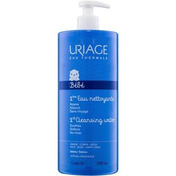 Fotografie Uriage 1érs Soins Bébés čisticí voda na tělo a obličej 1000 ml