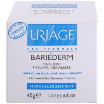 Uriage Bariéderm crema restaurativa pe pielea crapata 3