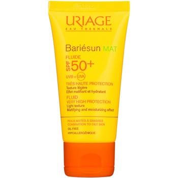 Uriage Bariésun Mat fluid mat hidratant SPF 50+