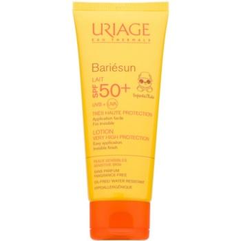 Uriage Bariésun lotiune de protectie solara pentru cpoii SPF 50+