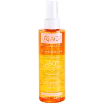 Uriage Bariésun ulei de bronzat pentru piele uscata SPF 50+