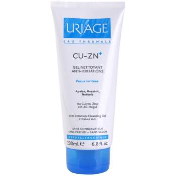 Uriage Cu-Zn+ kojący żel oczyszczający do popękanej skóry