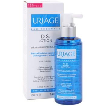 Uriage D.S. успокояващ спрей за суха и сърбяща кожа на главата 1