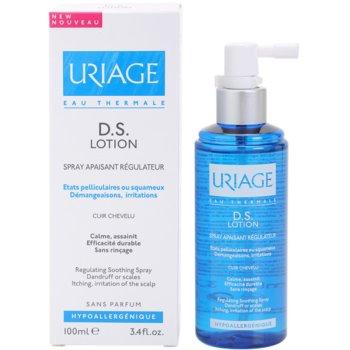 Uriage D.S. успокояващ спрей за суха и сърбяща кожа на главата 2