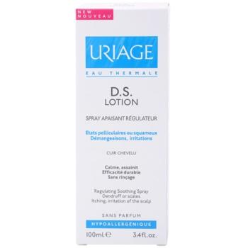 Uriage D.S. успокояващ спрей за суха и сърбяща кожа на главата 3