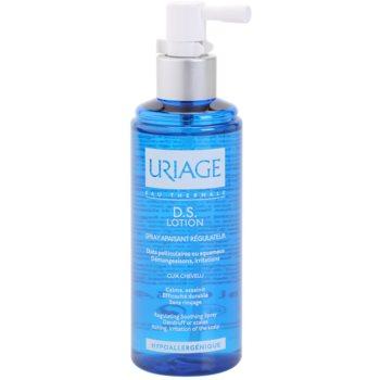 Uriage D.S. успокояващ спрей за суха и сърбяща кожа на главата