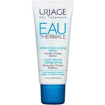 Uriage Eau Thermale crema hidratanta usoara SPF 20