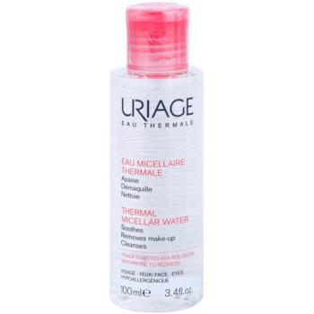 uriage eau micellaire thermale apa pentru curatare cu particule micele pentru piele sensibila cu tendinte de inrosire