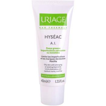 Uriage Hyséac A.I. cremă pentru atenuarea simptomelor inflamatorii cauzate de acnee