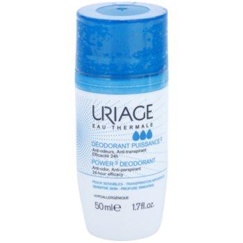 Uriage Hygiène dezodorant w kulce przeciwko białym i żółtym śladom
