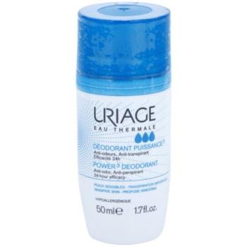 Uriage Hygiène Deodorant roll-on impotriva petelor albe si galbene  50 ml