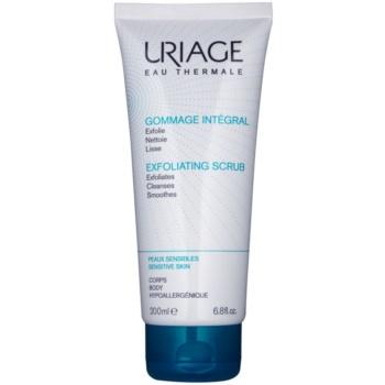 Uriage Hygiène reinigendes Peeling-Gel für empfindliche Oberhaut