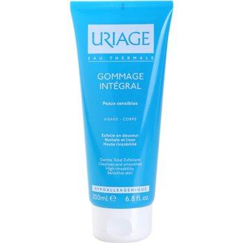 Uriage Hygiène reinigendes Peeling-Gel für empfindliche Oberhaut 1
