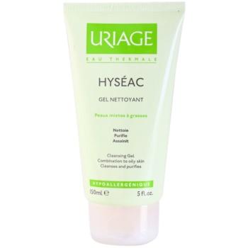 Uriage Hyséac gel de curatare pentru ten mixt si gras