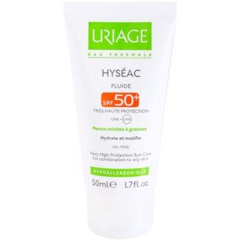 Uriage Hyséac fluid matująco-nawilżający SPF 50+
