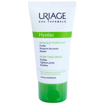Uriage Hyséac почистваща и успокояваща маска за лице за стягане на порите