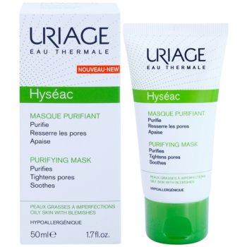 Uriage Hyséac почистваща и успокояваща маска за лице за стягане на порите 1