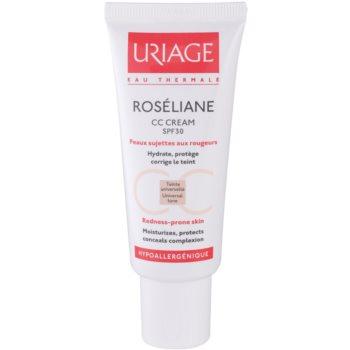 Fotografie Uriage Roséliane CC krém pro citlivou pleť se sklonem ke zčervenání SPF 30 40 ml
