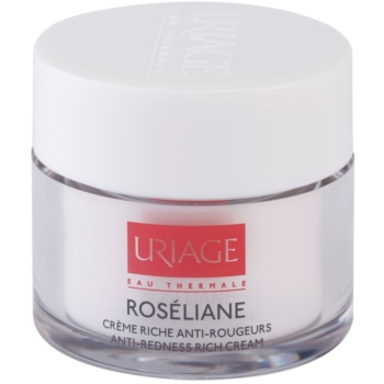 Uriage Roséliane подхранващ дневен крем за чувствителна кожа със склонност към почервеняване 1