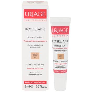 Uriage Roséliane Tönungsfluid für empfindliche Haut mit der Neigung zum Erröten 1