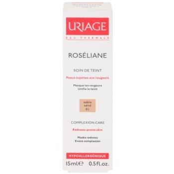 Uriage Roséliane Tönungsfluid für empfindliche Haut mit der Neigung zum Erröten 2