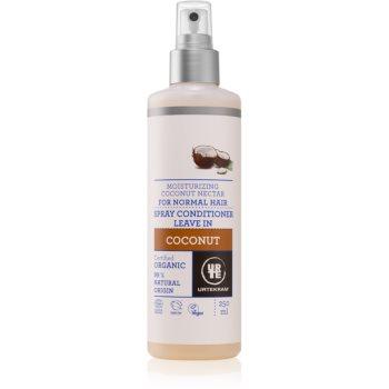Urtekram Coconut balsam pentru regenerarea părului pentru hidratare si stralucire