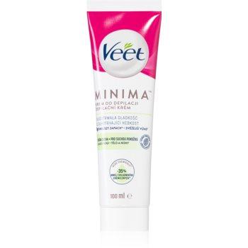 Veet Silk & Fresh crema depilatoare pentru piele uscata imagine produs