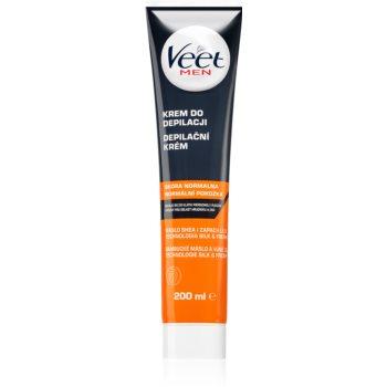 Veet Men Silk & Fresh cremã depilatoare cu efect hidratant pentru piele normala imagine produs