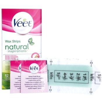 Veet Natural Inspirations восъчни ленти за епилация за нормална и суха кожа 2