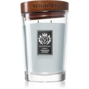 Vellutier Oudwood Journey lumânare parfumată