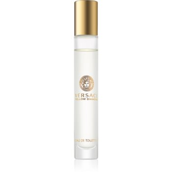 Versace Yellow Diamond eau de toilette pentru femei 10 ml roll-on