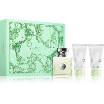 Versace Versense dárková sada I. toaletní voda 50 ml + sprchový gel 50 ml + tělové mléko 50 ml