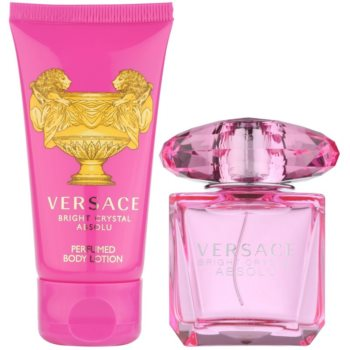 Versace Bright Crystal Absolu подарункові набори 2