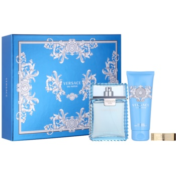 Image of Versace Man Eau Fraîche Gift Set XXV. Eau De Toilette 100 ml + Shower Gel 100 ml + money clip