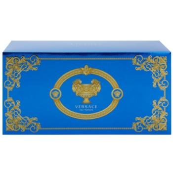 Fotografie Versace Man Eau Fraîche dárková sada XVI. toaletní voda 100 ml + sprchový gel 100 ml + kosmetická taška 23 x 11 x 10 cm
