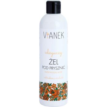 Fotografie Vianek Nutritious sprchový gel s vyživujícím účinkem s extraktem z medu a plicníku lékařského 300 ml