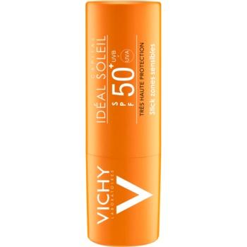 Vichy Idéal Soleil Capital Stick pentru a proteja zonele sensibile și a buzelor SPF 50+