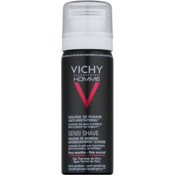 Vichy Homme Anti-Irritation spuma pentru barbierit pentru piele sensibila si iritabila
