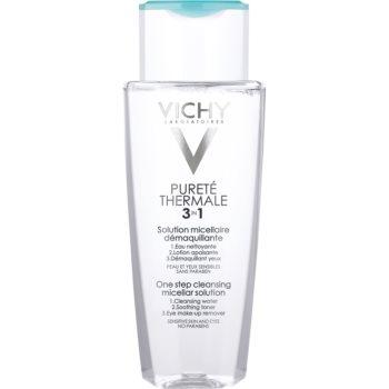 Vichy Pureté Thermale apa pentru  curatare cu particule micele 3 in 1  200 ml