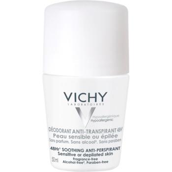 Vichy Deodorant Deodorant roll-on pentru piele sensibila si iritata  50 g
