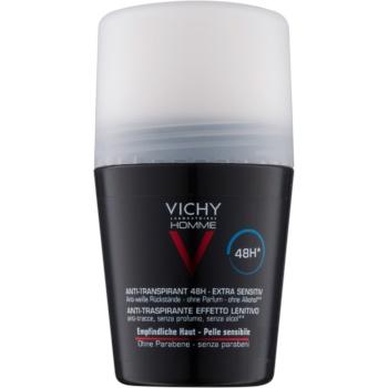 Fotografie Vichy Homme Deodorant antiperspirant roll-on bez parfemace 48h 50 ml
